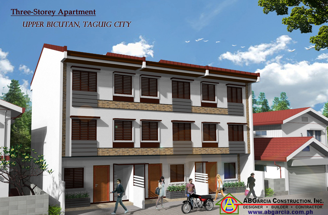 New pre selling home apartment three storey in upper for Zen apartment design in the philippines